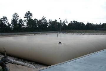 21000 gallon Fuel / Water Reservoir