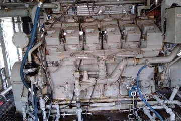 1,478 hp Wakesha L7042GSI Ariel JGK-4 Reciprocating Compressor