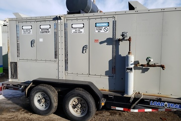 55 kW General Motors 5.7L V8 Natural Gas Generator Package
