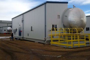 "144"" ID X 70ft 75 PSI Dual Polarity Treater"