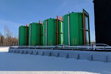 400 bbl Storage Tank (3 available)