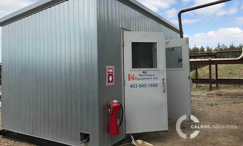Instrument air screw compressor package alberta 2