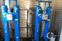Instrument air screw compressor package alberta 9