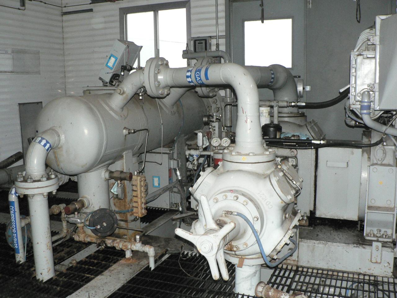 520 hp Waukesha H24GL Ariel JGJ/2 Reciprocating Compressor