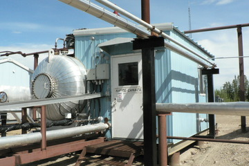 "72"" X 20ft 75 PSI Electrostatic Treater"