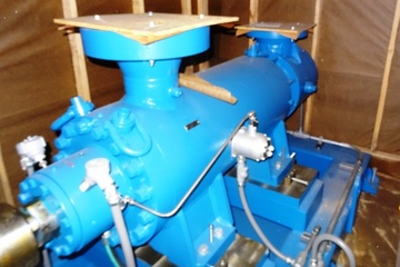 1000 hp 140 m3/hr Oil Transfer Pump Package (Electric)
