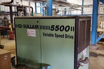 125 psig Air Compressor (Variable Speed Drive)
