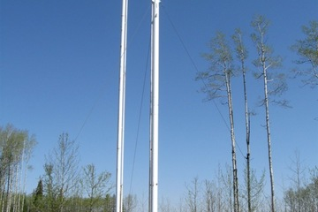 40ft Tornado Self Supported Flare Stack