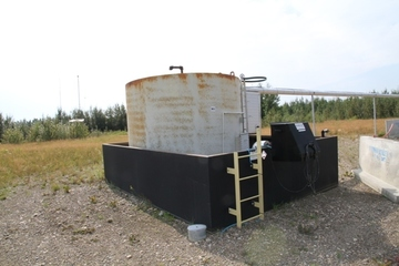 100 bbl Storage Tank (C/W Secondary Containment)