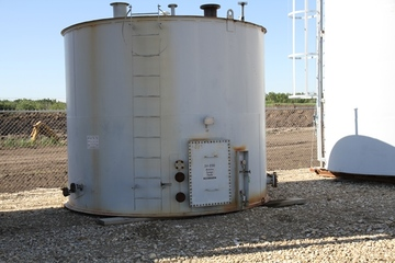 200 bbl Double Wall Storage Tank
