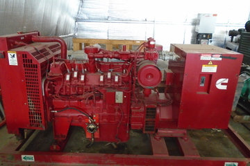 55 kW Cummins Diesel Generator Package