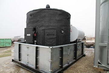 100 bbl Storage Tank (with Skid Containment)