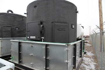 100 bbl Storage Tank (with Skidded Containment)