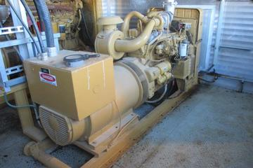 150 kW Caterpillar C-46 Natural Gas Generator Package
