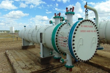13 MMBTU/hr Shell and Tube Exchanger