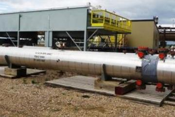 "6.7 MMBTU/hr 26"" Shell and Tube Exchanger"