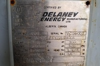 Delaney 30 inch name plate
