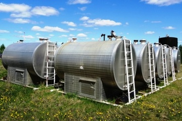 50 bbl Double Wall Blow Down Tank