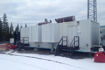 275 kW Waukesha F18GL Generator Package (with 255kw backup)