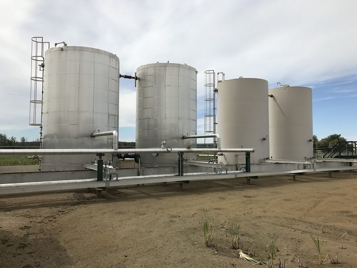 Above ground tanks