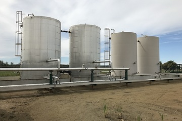 400 bbl Coated Storage Tank - (4) Available