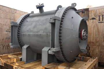 2580 ft² Spiral Exchanger