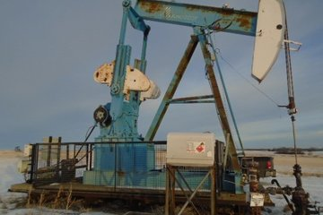 160-173-86 Ampscot with Lufkin Reducer Pump Jack