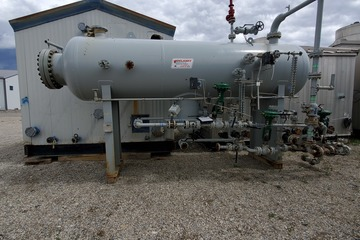 "48"" 720psi Sour Horizontal Separator 3 Phase"