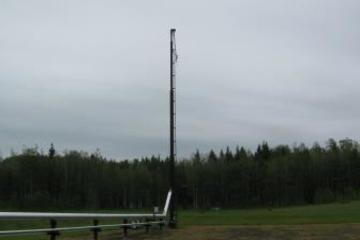 60ft Tornado Industries Self Supported Flare Stack