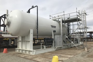 "120"" X 35ft 85m3 Bullet (Ammonia Co-Injection Skid)"