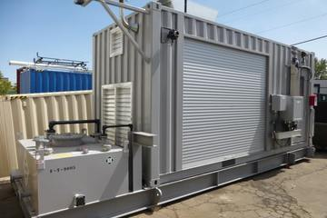 1400 SCFM 900 psig Instrument Air Package (Containerized)