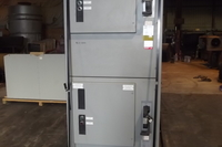 Ge motor starter panel for gas compressor