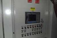 Solar turbotronic ctlm01 remote alarm panel front view