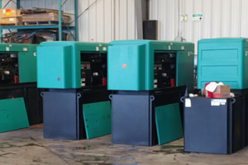 50 kW Cummins 4BT3.3G5 Diesel Generator Package (6 available)