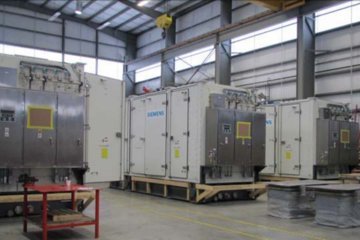 12900 kW Siemens SGT-400 Natural Gas Generator Package (3 available)