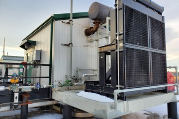 430 kW Waukesha H24GL Natural Gas Generator Package