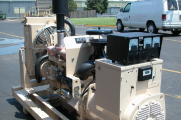 28 kW Arrow VRG260 Natural Gas Generator Package