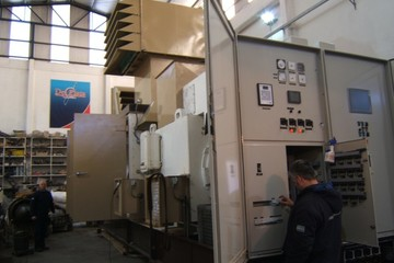4.47 MW GE LM500 Natural Gas Generator Package