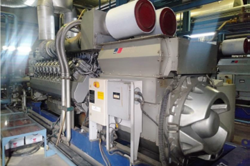 2711 kW Rolls Royce MTU Natural Gas Generator Package