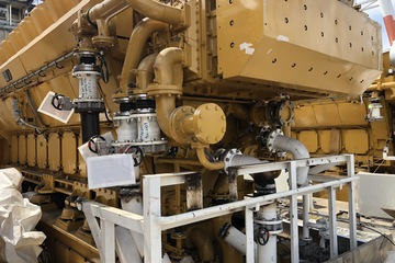 7374 kW Caterpillar 16CM32C Diesel Generator Package