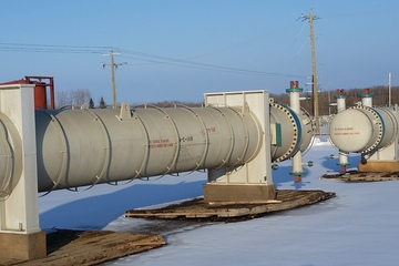 "45"" Shell and Tube Exchanger Sales Oil / Glycol"