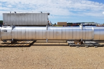 "17.25"" Shell and Tube Exchanger Hairpin-Diluent Recovery/Glyco"