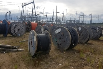 Assorted Cable Reels