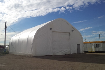 60 ft Tent Storage Building