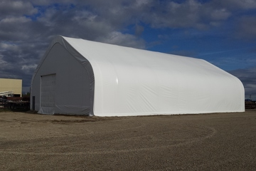 100 ft Tent Storage Building
