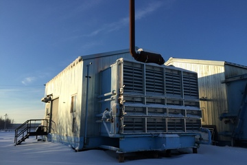 723 hp Waukesha F3521GL Ariel JGK/2 Reciprocating Compressor