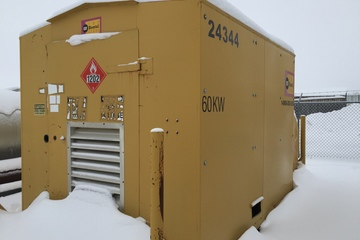 60 kW Caterpillar Diesel Generator Package