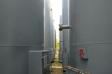 (2) 400 bbl Double Wall Production Tank