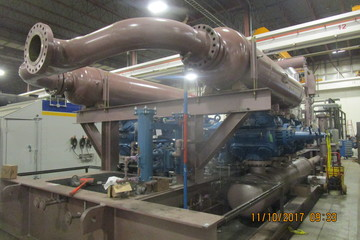 4835 hp Waukesha 16V275GL Ariel JGD-6 Reciprocating Compressor
